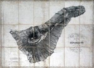 von Buch's map of Teneriffe, 1815