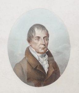 Portrait of Leopold von Buch