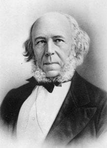 Portrait of Herbert Spencer