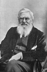 Alfred Russel Wallace, 1898